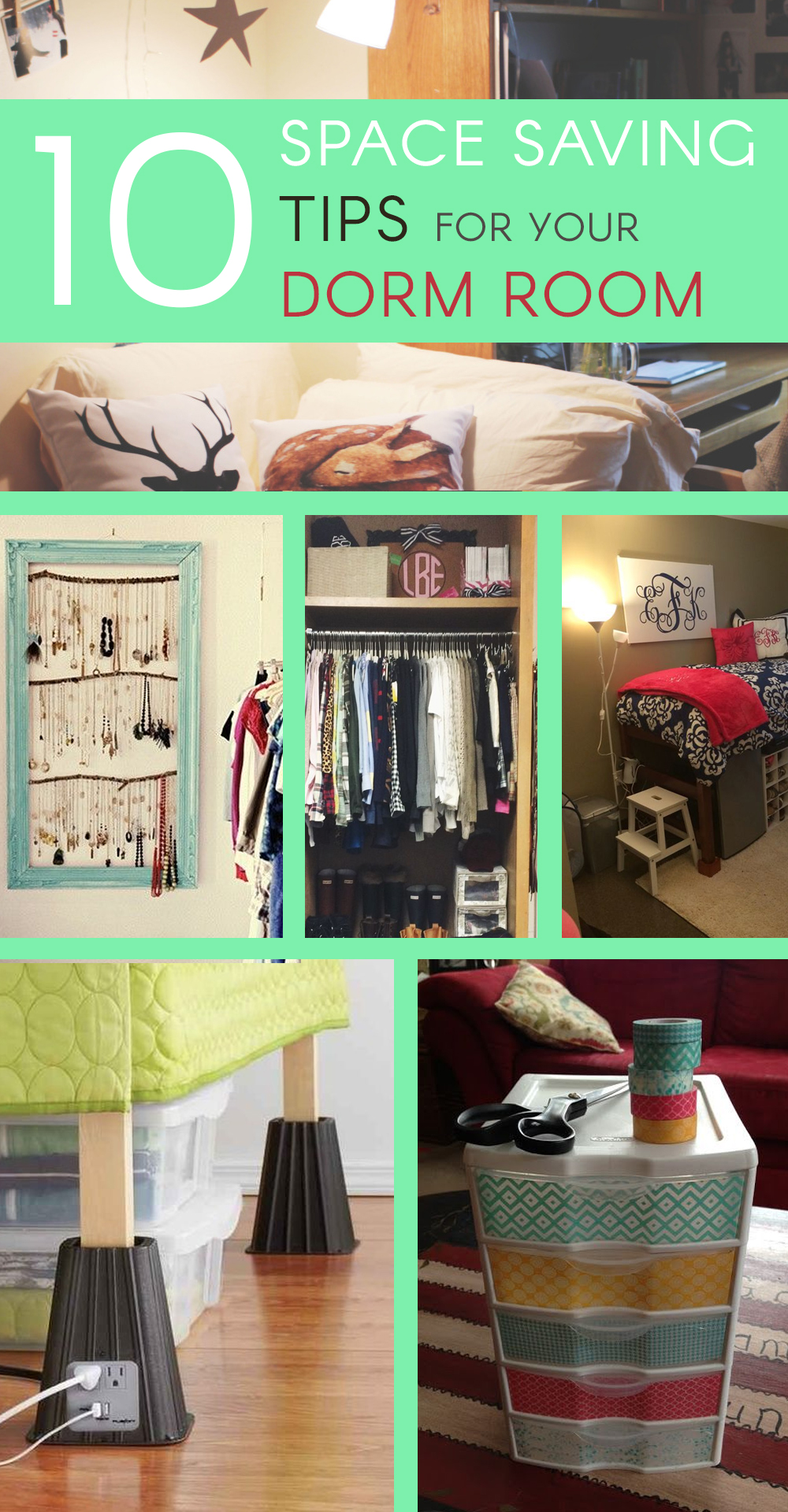 Dorm Room Storage: 10 Space Saving Tips For Your Dorm Room