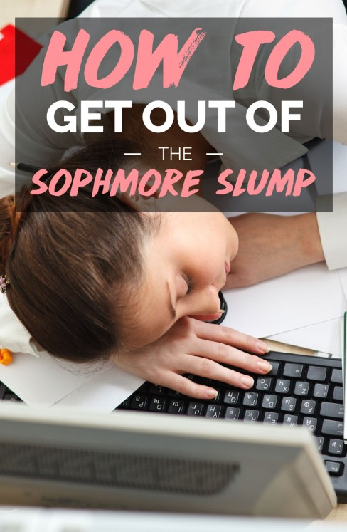 These are the easiest was to get out of that sophomore slump!