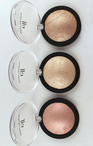 This elf cosmetics baked highlighter is gorgeous!