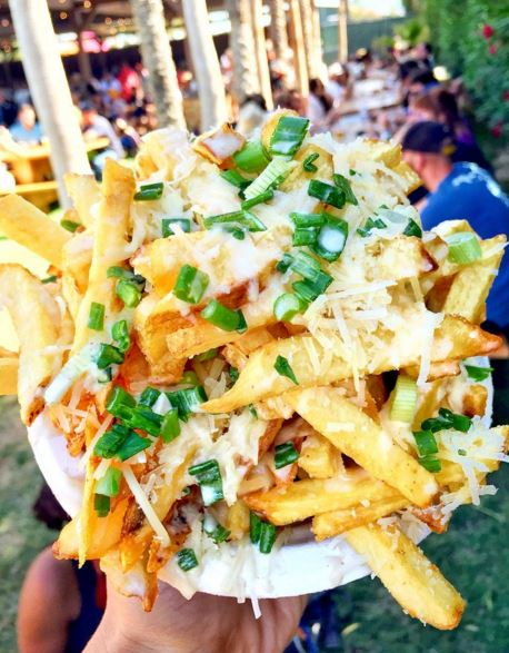 How to make fries better? Add toppings...ALL the toppings!