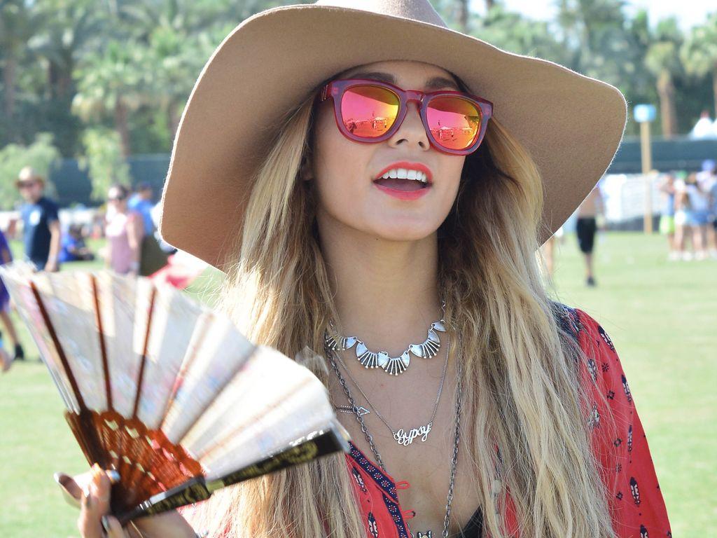 The Broke Girl's Guide To Vanessa Hudgens' Coachella Style