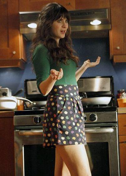 Dress like Jess Day by wearing polka dots!
