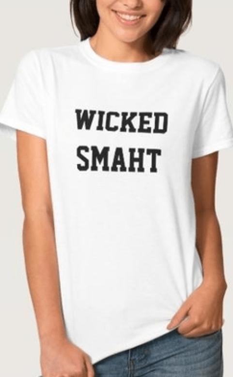 cute wicked smaht t shirt