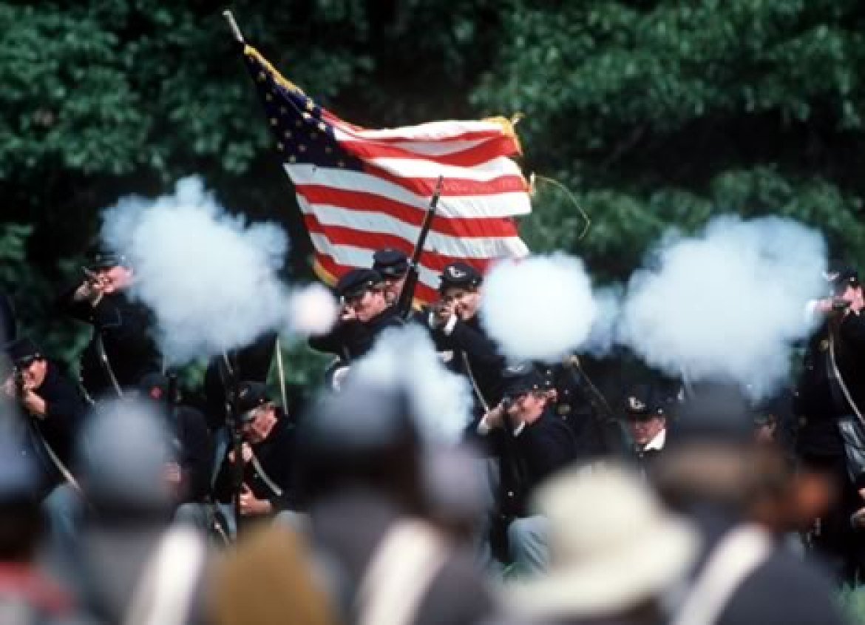 Civil War reenactment VA