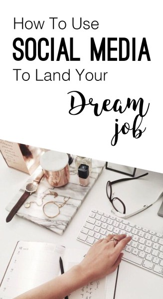If you're a social media guru this should be a piece of cake! But if you're not, these are the steps you need to take to land your dream job