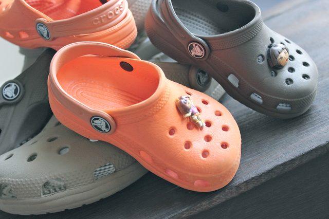 crocs with charms