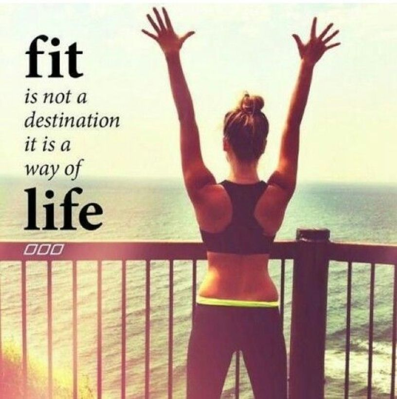 cute fitness quote