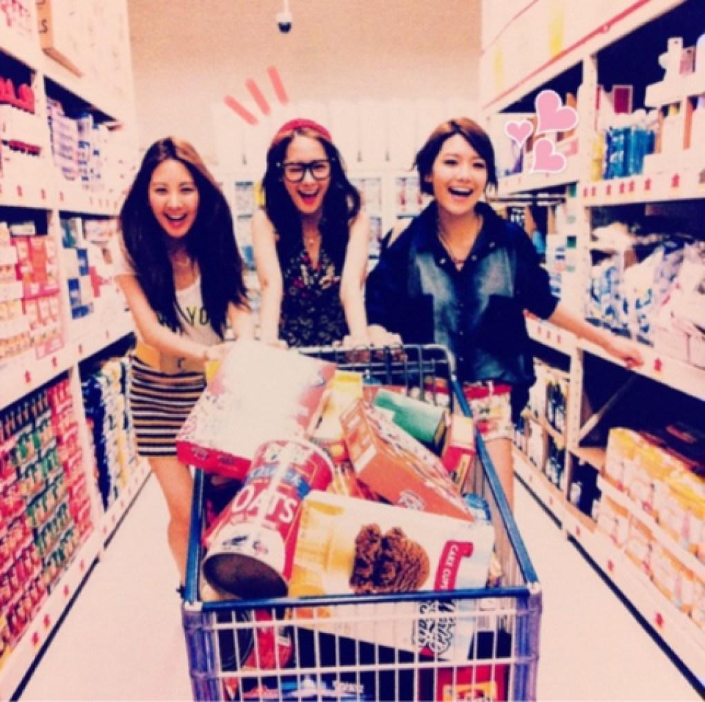cute grocery shopping