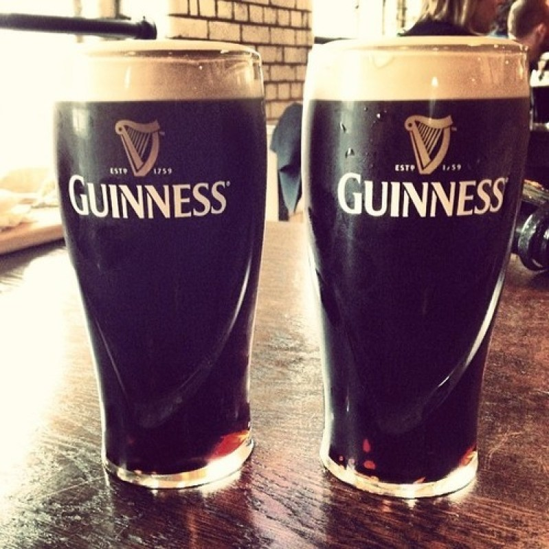 nice Guinness pour