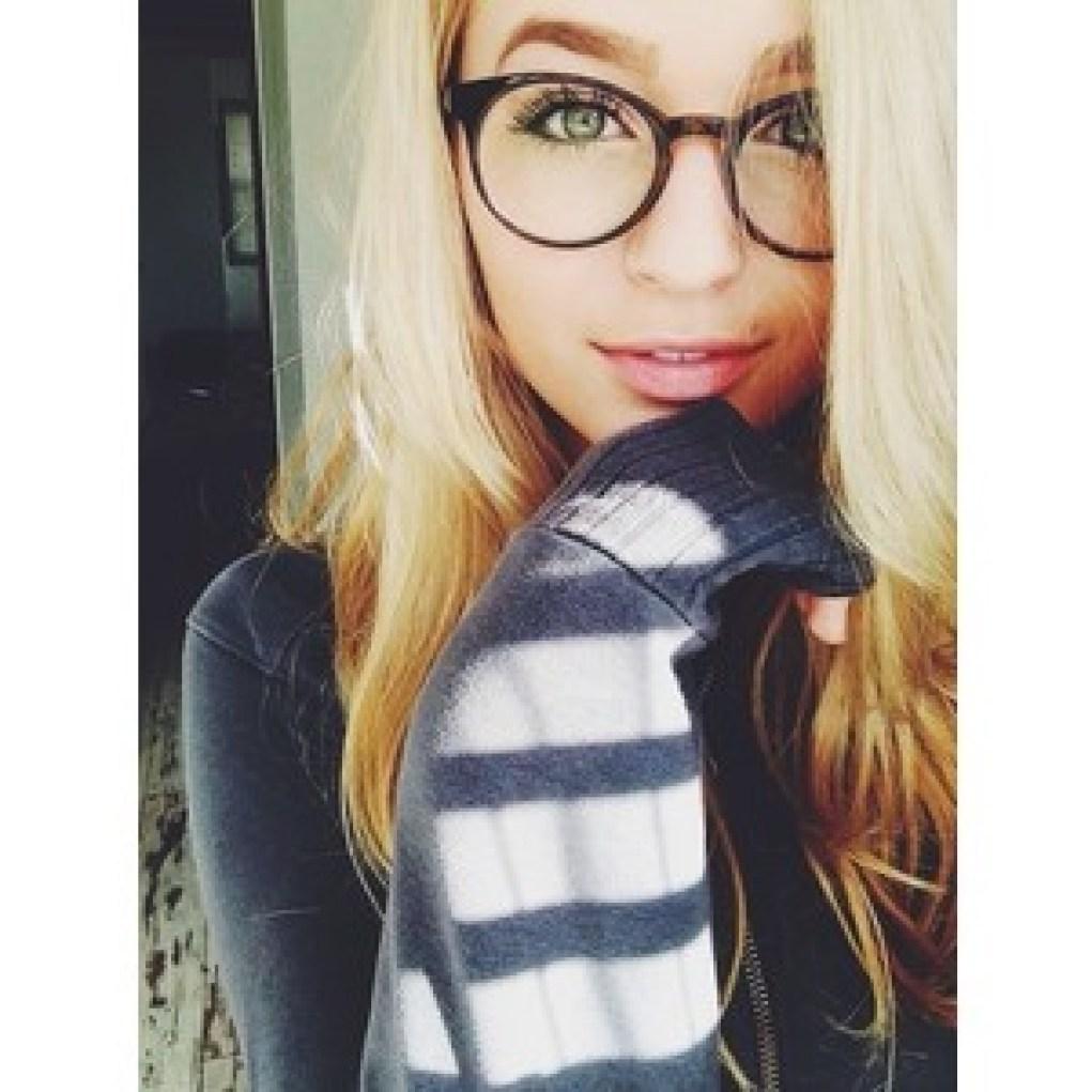 cute glasses!