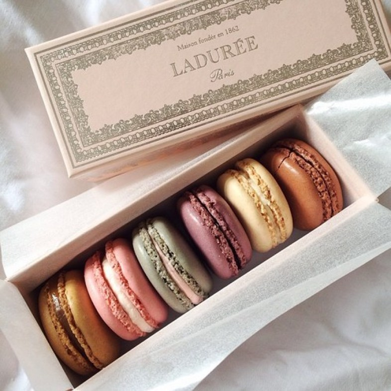 yummy Laduree macarons