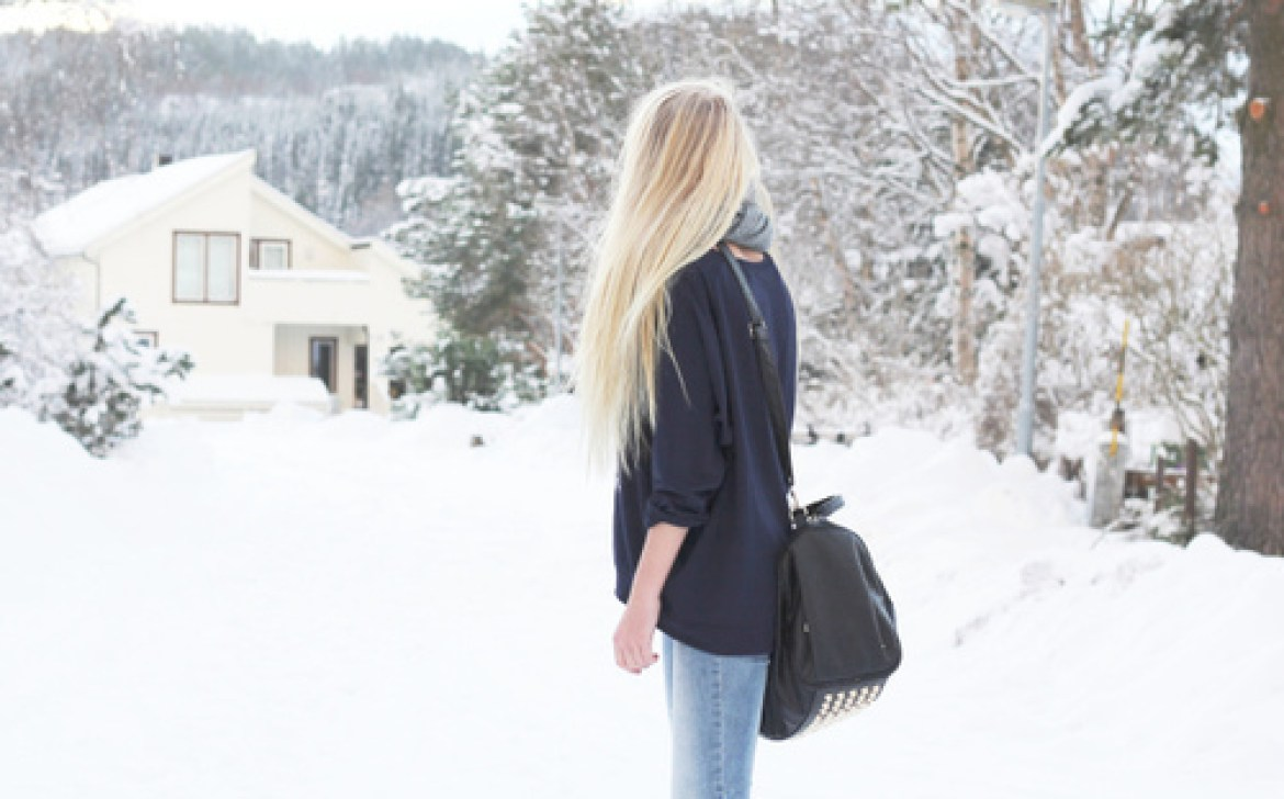 signs you went to private school - no snow days!