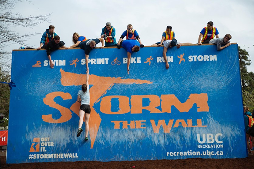 Storm the Wall at UBC