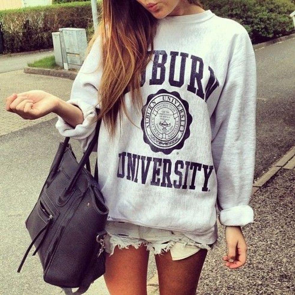 cute college sweatshirt