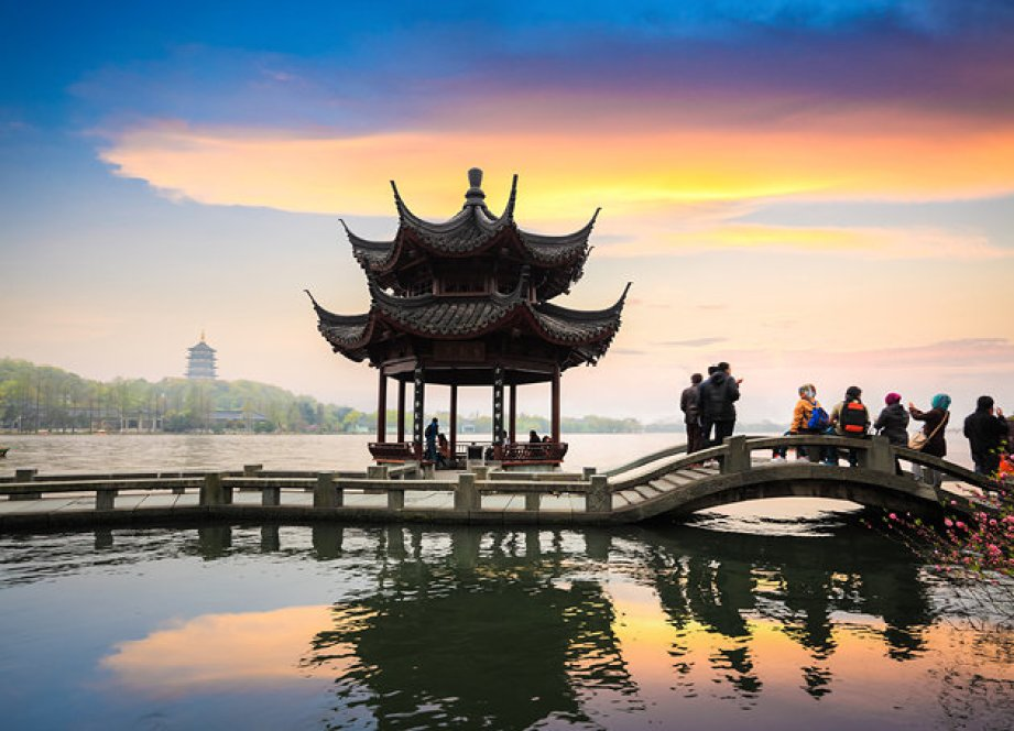 West Lake in China