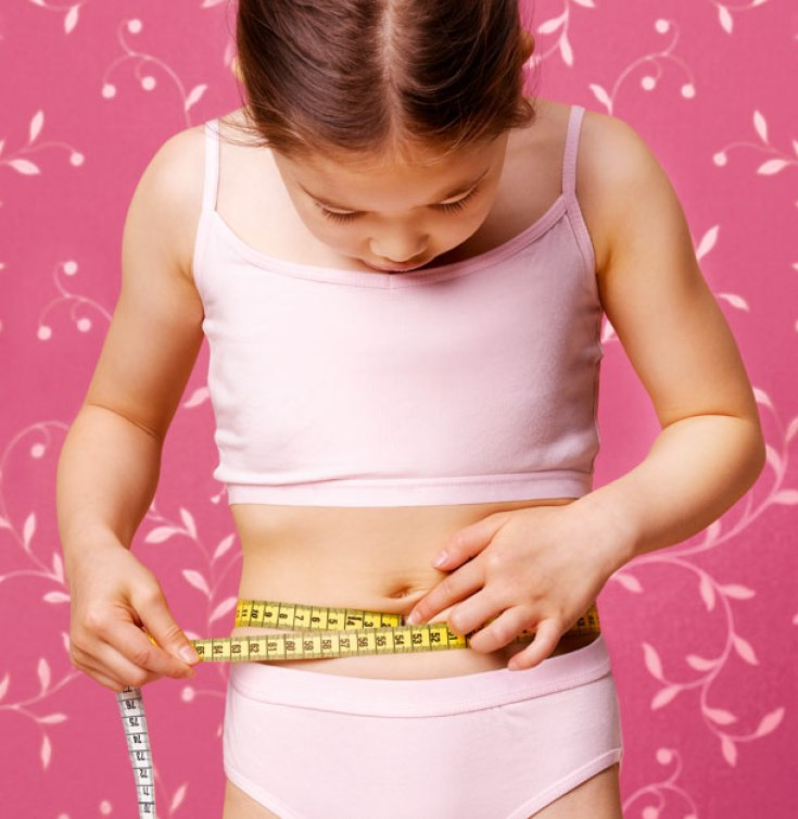 young girl obsessed with body shape pic