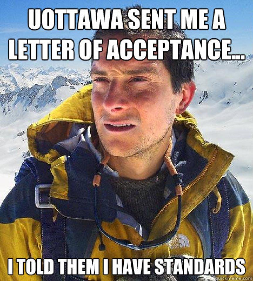 you go to Carleton University if...
