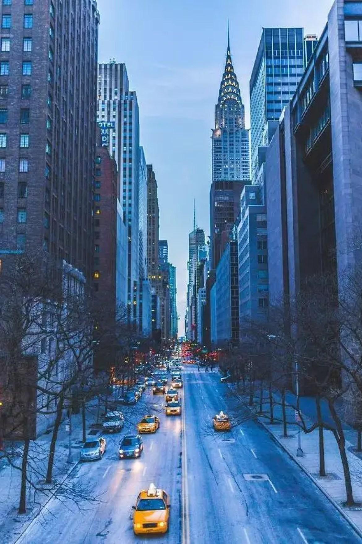 internship in a new city