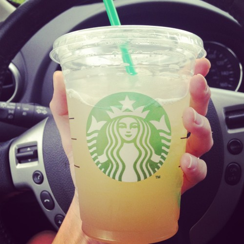 Peach Ring Iced Tea Starbucks