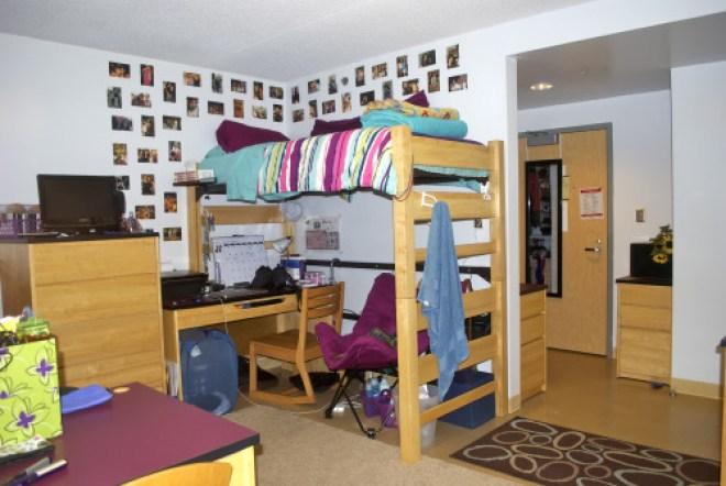 North Campus Residence Hall Dorm Room