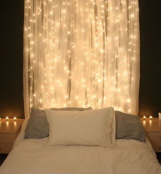 The Curtain Lights Hang Vertically, Allowing The Lights To Take Up Way More  Space And Add A Totally Different Level Of Cozy To Any Room. Part 74