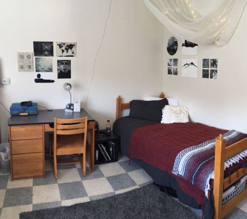 Check out these guy's dorm room ideas!