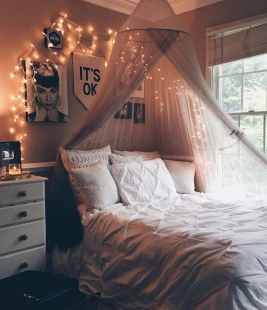 8 Diy Canopies Perfect For Your Dorm Society19