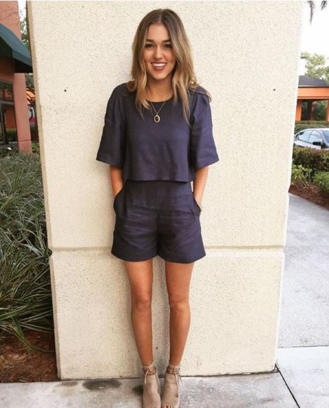Rompers are one of the best back to school outfits around!