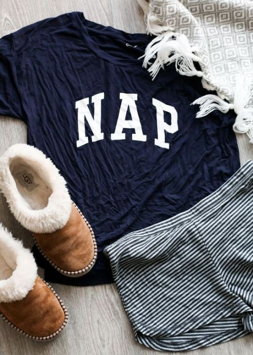 This pajama outfit is so cute with the slippers!