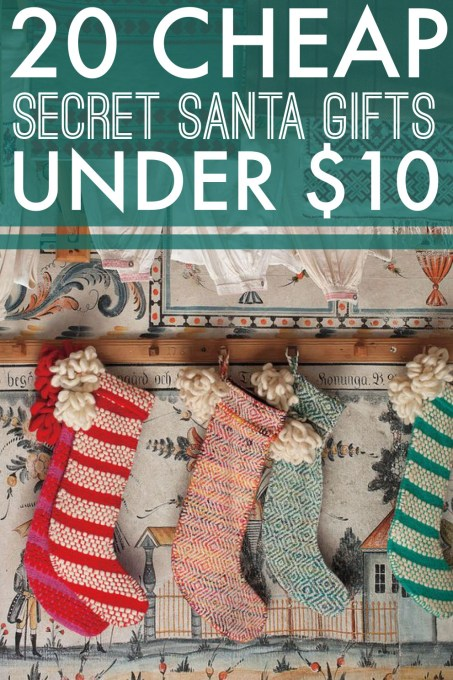 Looking for a secret santa gift? Here's 20 ideas all under $10!