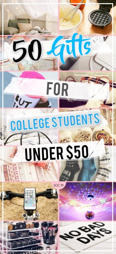 50 Gifts For College Students Under $50