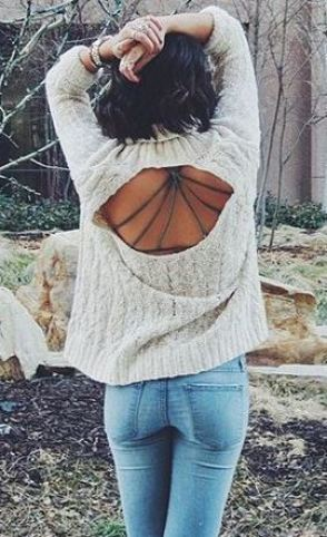 Loving this sweater for fall!