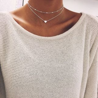 Dainty chokers are the perfect fall fashion item!