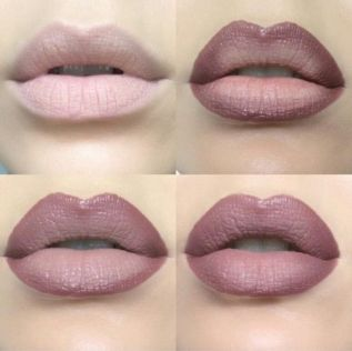 These ombre lips are amazing!