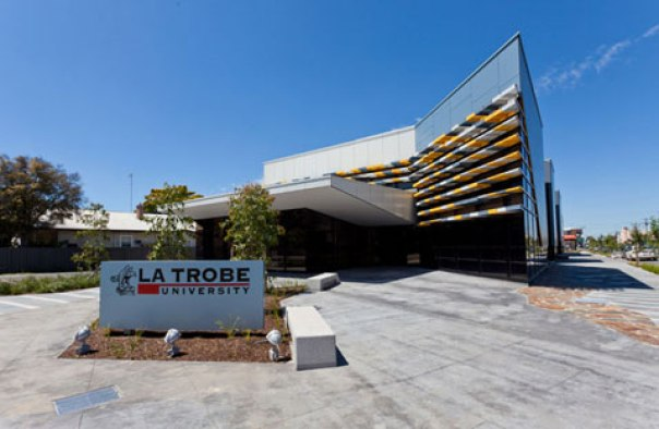 first year at La Trobe