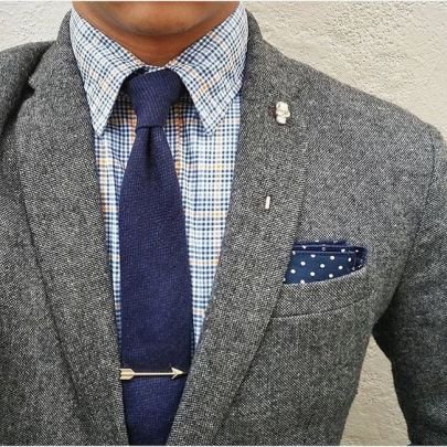 A tie can make your special man even more handsome.