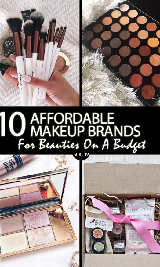 10 Affordable Makeup Brands You Absolutely Need to Know