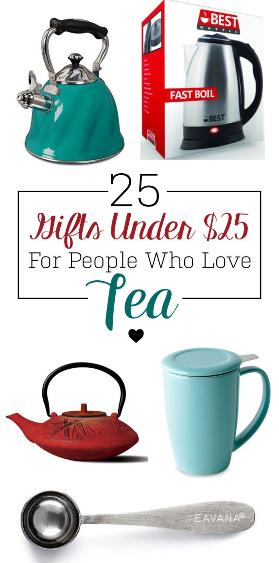 Awesome gifts for people who love tea!
