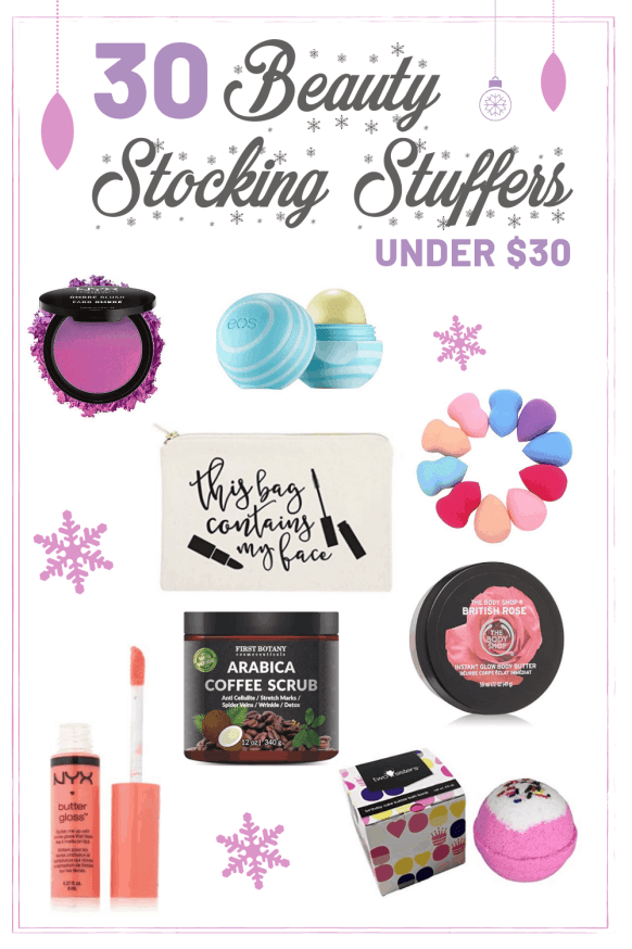 30 Beauty Stocking Stuffers under $30