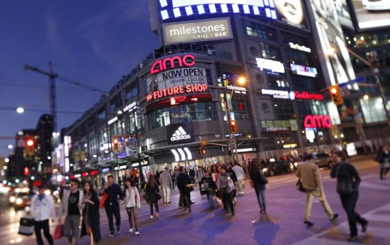 Is Dundas Square on your list of cute date ideas around Ryerson?