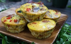 Egg muffins are one of the best kitchen hacks!