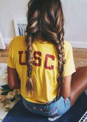 This is the cutest outfit idea for USC gameday!