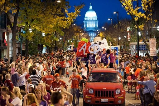 Is homecoming your favorite thing about fall at UW Madison?