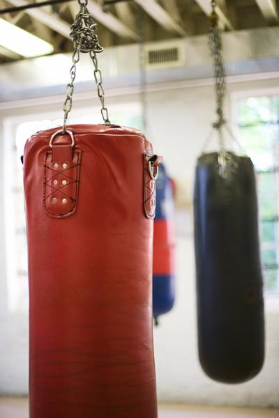 This punching bag will definitely help get rid of some anger.