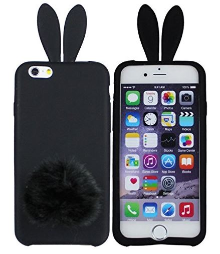 This bunny case would be the perfect gift for New Girl fans!