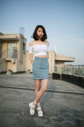 5 tips for how to wear a denim skirt complete fashion