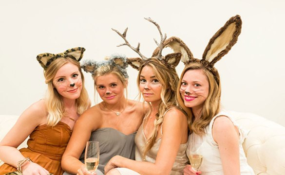 Halloween Bridesmaid Costumes.10 Last Minute Halloween Costumes You Can Diy Society19