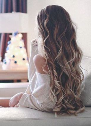 These long curls are beautiful!