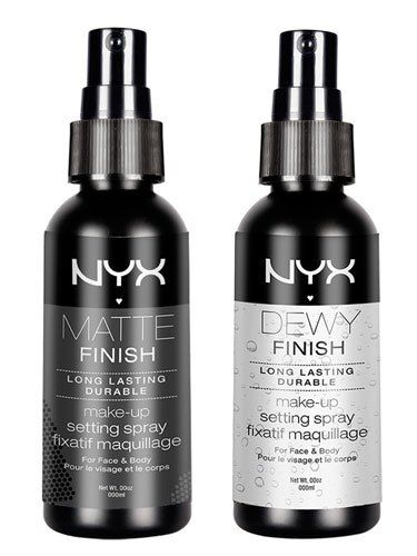 these NYX makeup setting sprays are the best!