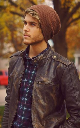I love beanies for the fall!